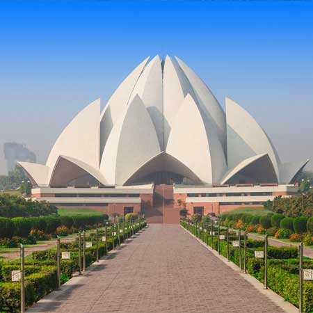 Bangunan Unik Di Dunia - Lotus Temple, India