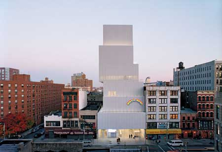 Bangunan Unik Di Dunia - The New Museum on the Bowery, NYC