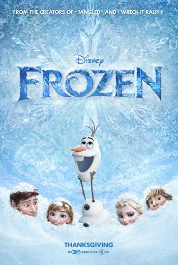 Film Animasi Terbaik Karya Disney - Frozen (2013)