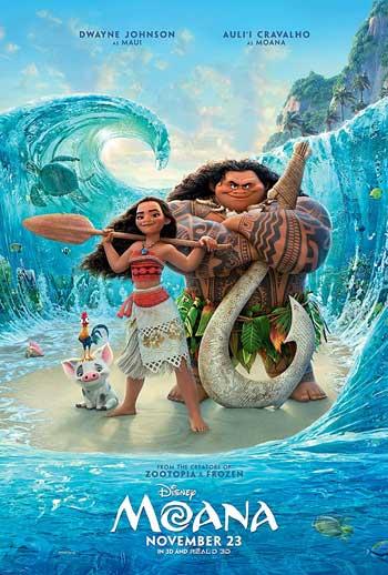Film Animasi Terbaik Karya Disney - Moana (2016)