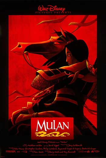 Film Animasi Terbaik Karya Disney - Mulan (1998)