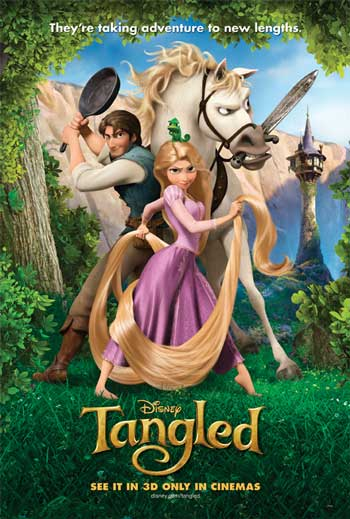 Film Animasi Terbaik Karya Disney - Tangled (2010)