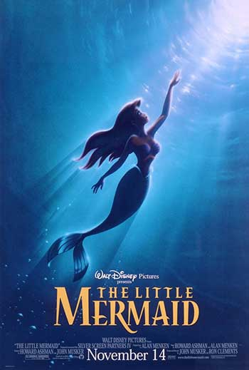 Film Animasi Terbaik Karya Disney - The Little Mermaid (1989)