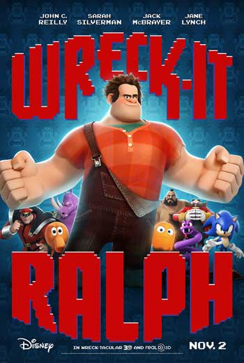 Film Animasi Terbaik Karya Disney - Wreck-It Ralph (2012)