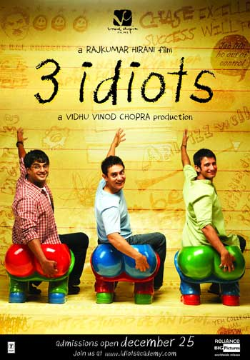 Film Persahabatan Terbaik - 3 Idiot (2009)