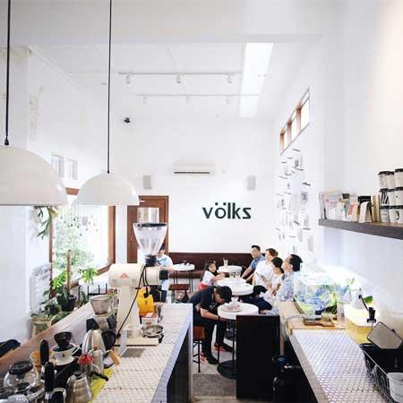Kedai Kopi Terbaik Di Surabaya - Völks Coffee