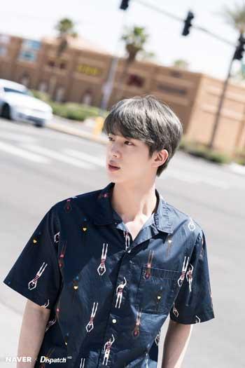 Profil Jin BTS