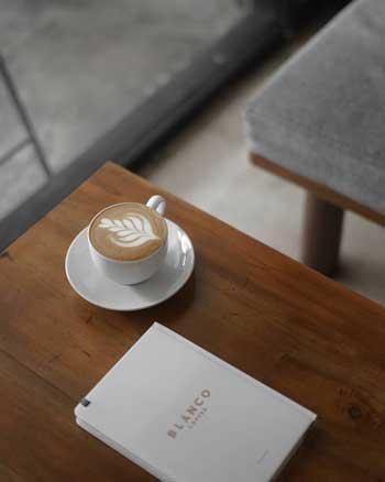 Rekomendasi Kedai Kopi Terbaik Di Jogja - Menu Blanco Coffee and Books