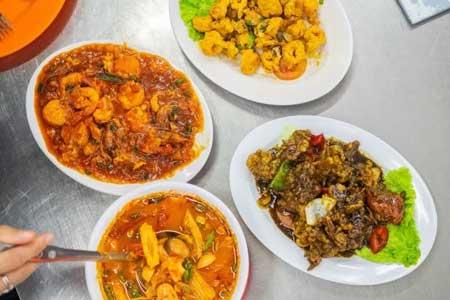 Tempat Makan Yang Enak Dan Murah Di Medan - Menu Wajir Seafood