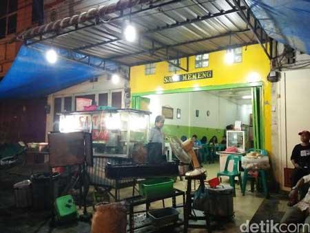 Tempat Makan Yang Enak Dan Murah Di Medan - Sate Memeng