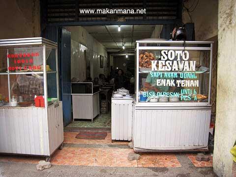 Tempat Makan Yang Enak Dan Murah Di Medan - Soto Kesawan Enak Tenan