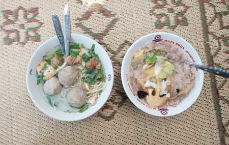 Tempat Wisata Kuliner Di Jogja - Menu Es Buah PK