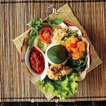 Tempat Wisata Kuliner Di Jogja - Menu House of Raminten