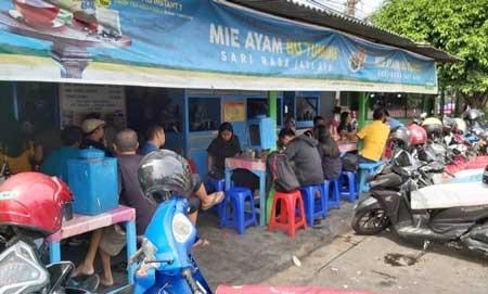 Tempat Wisata Kuliner Di Jogja - Mie Ayam Bu Tumini