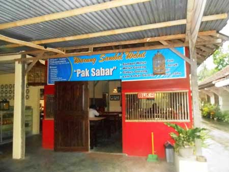 Tempat Wisata Kuliner Di Jogja - Sambel Welut Pak Sabar