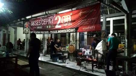 Tempat Wisata Kuliner Di Jogja - Sate Klatak Pak Bari