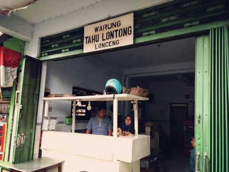 Tempat Wisata Kuliner Di Malang - Depot Tahu Lontong Lonceng