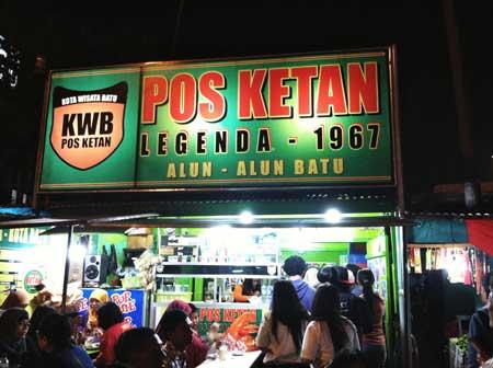 Tempat Wisata Kuliner Di Malang - Pos Ketan Legenda