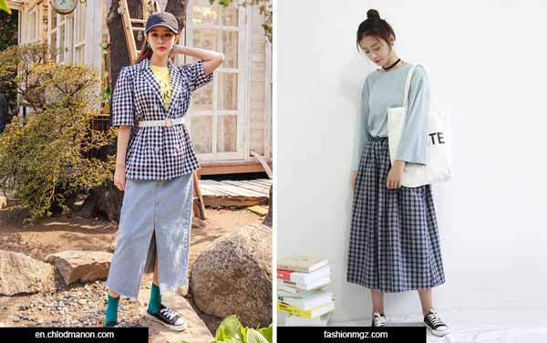 Trend-Fashion-Korea-2020-Check-Print