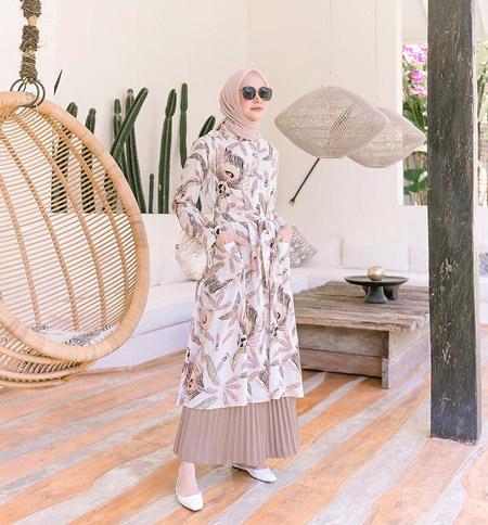 Baju Batik Hijab