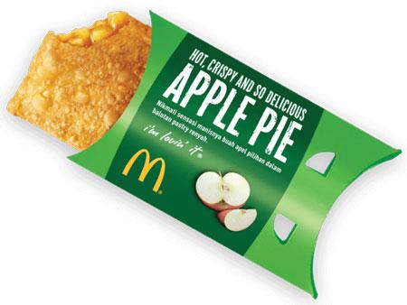 Menu Fast Food Yang Enak Dan Lezat Di Indonesia - Apple Pie