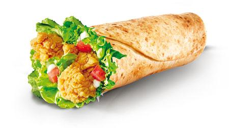 Menu Fast Food Yang Enak Dan Lezat Di Indonesia - Chicken Wrap
