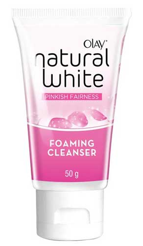Produk Kosmetik Olay Lengkap - Olay Natural White Pinkish Fairness Foaming Cleanser