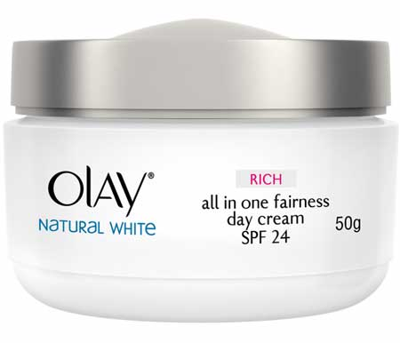 Produk Kosmetik Olay Lengkap - Olay Natural White Rich all in One Fairness Day Cream
