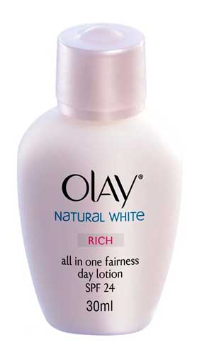 Produk Kosmetik Olay Lengkap - Olay Natural White Rich all in One Fairness Day Lotion SPF 24