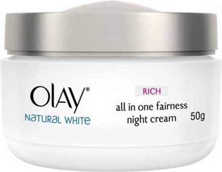 Produk Kosmetik Olay Lengkap - Olay Natural White Rich all in One Fairness Night Cream