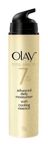 Produk Kosmetik Olay Lengkap - Olay Total Effects 7 in One Advanced Daily Moisturiser with Cooling Essence