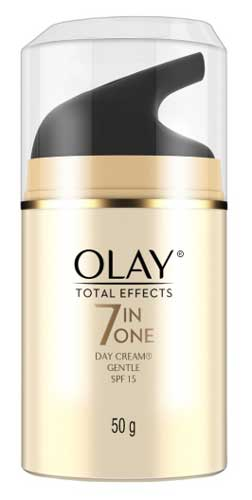 Produk Kosmetik Olay Lengkap - Olay Total Effects 7 in One Day Cream Gentle SPF 15