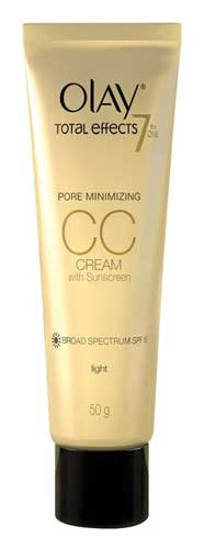 Produk Kosmetik Olay Lengkap - Olay Total Effects 7 in One Pore Minimizing CC Cream with Sunscreen SPF 15