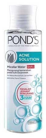 Produk Kosmetik Pond's Lengkap Dengan Harga - Pond's Acne Solution Micellar Water