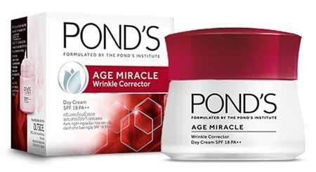 Produk Kosmetik Pond's Lengkap Dengan Harga - Pond's Age Miracle Wrinkle Corrector Day Cream SPF 18 PA++