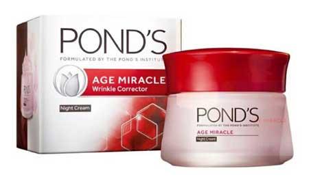 Produk Kosmetik Pond's Lengkap Dengan Harga - Pond's Age Miracle Wrinkle Corrector Night Cream