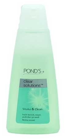 Produk Kosmetik Pond's Lengkap Dengan Harga - Pond's Clear Solution Shake & Clean