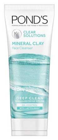 Produk Kosmetik Pond's Lengkap Dengan Harga - Pond's Clear Solutions Mineral Clay