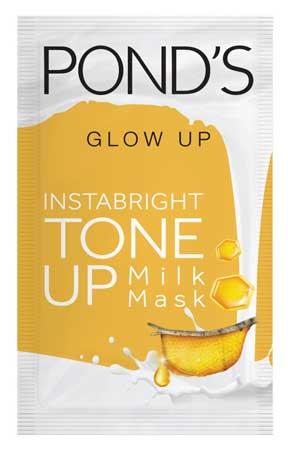Produk Kosmetik Pond's Lengkap Dengan Harga - Pond's Glow Up Instabright Tone Up Milk Mask