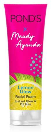 Produk Kosmetik Pond's Lengkap Dengan Harga - Pond's Lemon Glow Instant Glow & Oil Free Facial Foam
