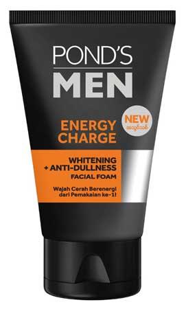Produk Kosmetik Pond's Lengkap Dengan Harga - Pond's Men Energy Charge Facial Foam