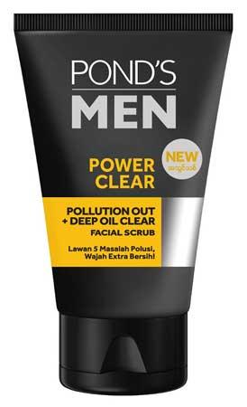Produk Kosmetik Pond's Lengkap Dengan Harga - Pond's Men Powder Clear Facial Scrub