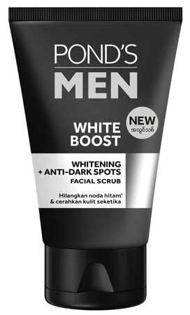 Produk Kosmetik Pond's Lengkap Dengan Harga - Pond's Men White Boost Facial Scrub