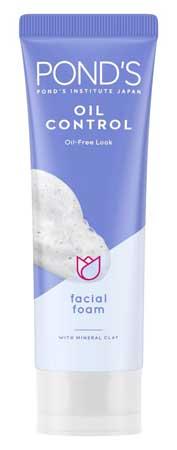 Produk Kosmetik Pond's Lengkap Dengan Harga - Pond's Oil Control Oil-Free Look Facial Foam