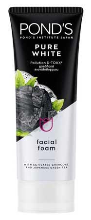 Produk Kosmetik Pond's Lengkap Dengan Harga - Pond's Pure White Pollution D-TOXX Facial Foam