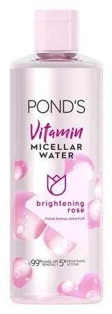 Produk Kosmetik Pond's Lengkap Dengan Harga - Pond's Vitamin Micellar Water Brightening Rose