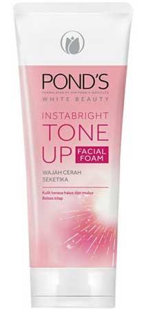 Produk Kosmetik Pond's Lengkap Dengan Harga - Pond's White Beauty Instabright Tone Up Facial Foam