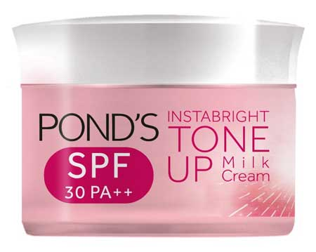 Produk Kosmetik Pond's Lengkap Dengan Harga - Pond's White Beauty Instabright Tone Up Milk Cream SPF 30 PA++