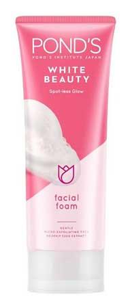 Produk Kosmetik Pond's Lengkap Dengan Harga - Pond's White Beauty Spot-less Glow Facial Foam