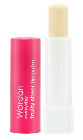 Produk Kosmetik Wardah Lengkap Dengan Harganya - Everyday Fruity Sheer Lip Balm